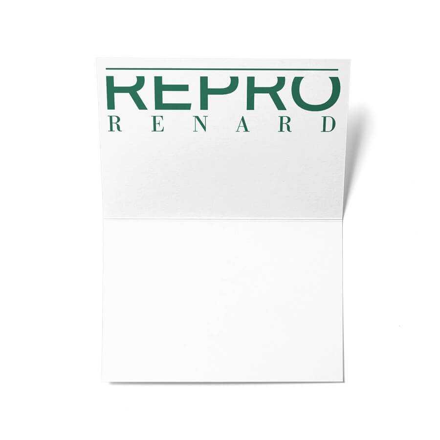 Visitenkarten Repro Renard Kiel